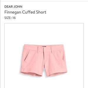 Dear John Finnegan Cuffed Shorts